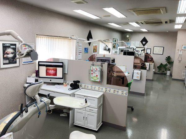 おおさわ歯科医院の施術室です
