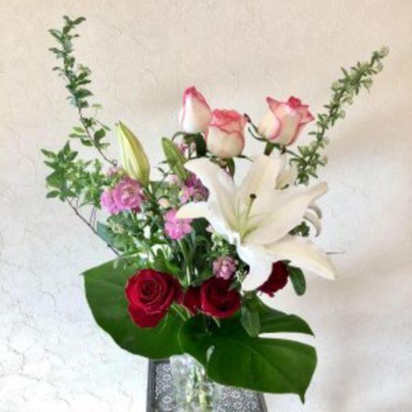 待合室のお花 (令和2年2月4日 立春)